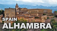 Alhambra Palace and Fortress Complex in Granada, Spain ...