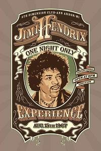 Jimi Hendrix posters - Jimi Hendrix One Night Only poster ...