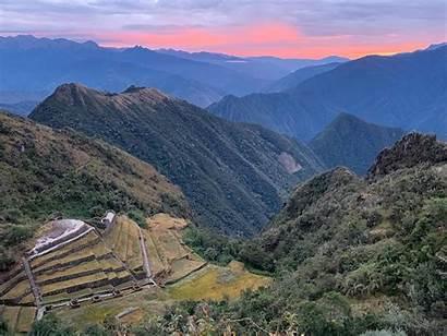 Inca Trail Trek Picchu Machu Train July