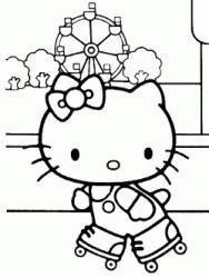 disegni   kitty da colorare