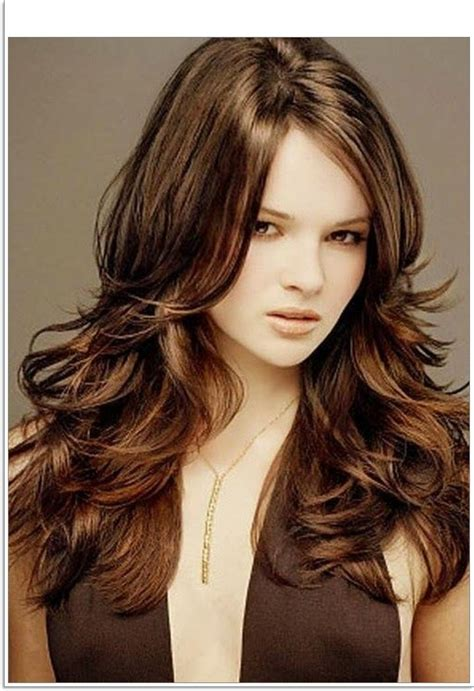hairstyle long layered haircuts  women photo nue