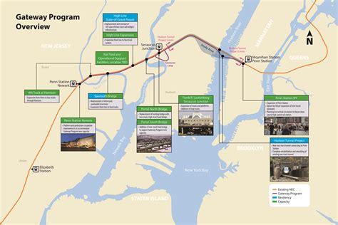 GATEWAY PROGRAM OVERVIEW MAP – Amtrak