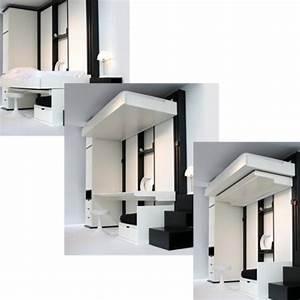 les 25 meilleures idees de la categorie lit escamotable With meuble pour piece mansardee 0 les 25 meilleures idees de la categorie rangement sous
