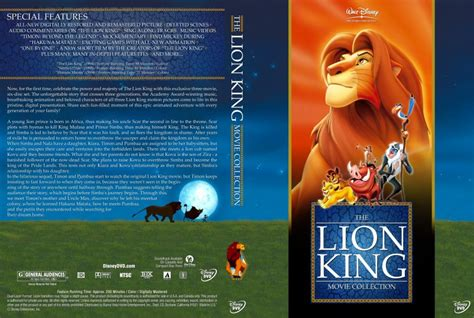 The Lion King Movie Trilogy Collection