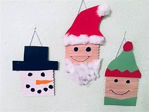 Weihnachtsgeschenke Für Eltern Basteln : basteln zu weihnachten mit eisstielen der familienblog f r kreative eltern ~ Orissabook.com Haus und Dekorationen