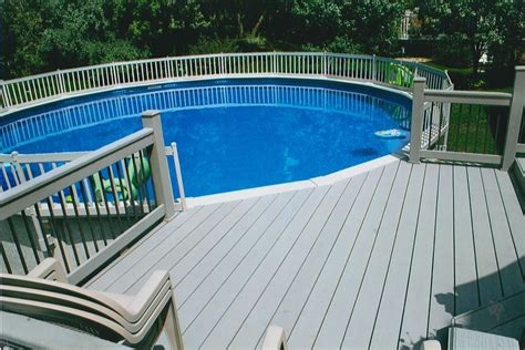 cool idea   ground pool decks pool