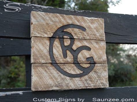saunzee custom branded wood signs burn burning brand mark