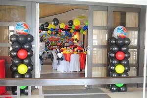 Styro Backdrop Design - Daniela Party Needs
