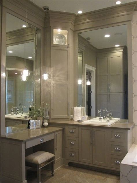bathroom makeup vanity cabinets best 25 corner bathroom vanity ideas on