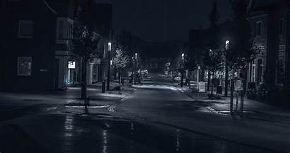 Lonely Night Street 1920p Wallpapers 4k Moon