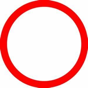Red circle clip art vector free image - Clipartix