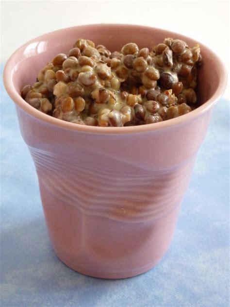 cuisiner des lentilles en boite lentilles moutardées recette sud com