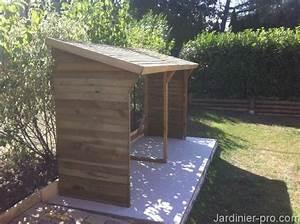 Dalle Pour Abri De Jardin : abri buches lequel choisir jardinier pro ~ Mglfilm.com Idées de Décoration