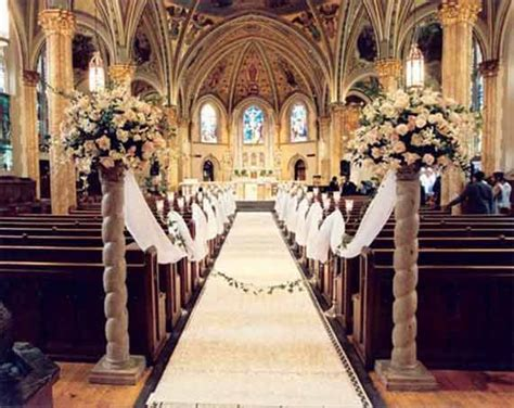decorating pews for weddings floral church wedding