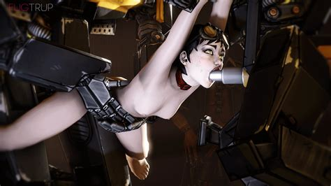 Rule 34 2robots 3d Animated Areola Arms Up Bdsm Black