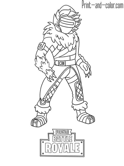 fortnite battle royale coloring page zenith skin coloring books coloring pages coloring