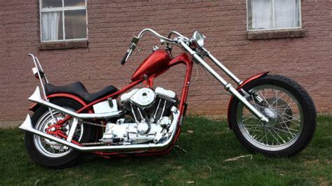Full Custom Harley Davidson Sportster Based Chopper