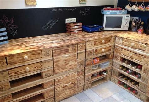 muebles de palets ideas funcionales  creativas  las