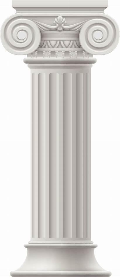 Column Roman Clipart European Columna Painted Colonnes