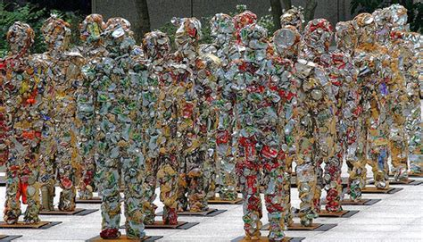 The Army Of Trash Figures Slowly Conquering The World