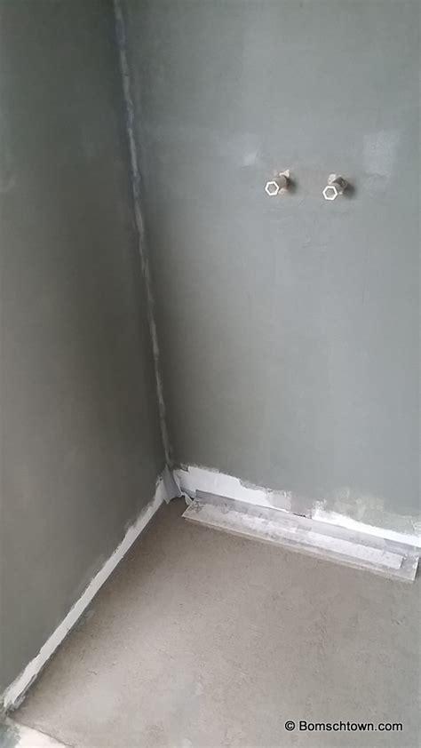 Duschbereich Ohne Fliesen by G 228 Stebad Rostfarben Haupt Bad In Betonoptik Hausbau In