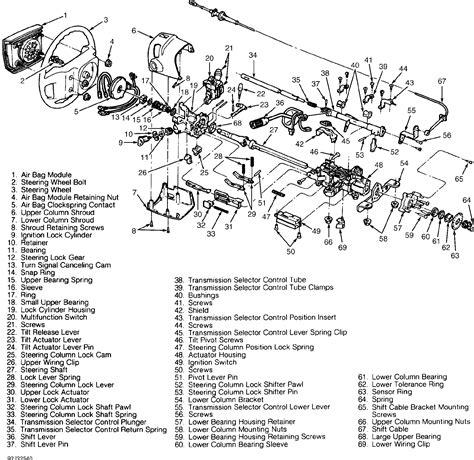 Ford Assembly Tilt Wheel Steering Column