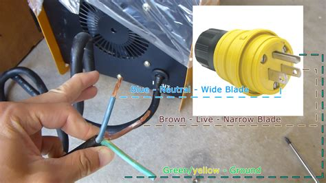 wiring color green yellow zen diagram power cord