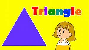 Triangles - Teach & Learn Shapes for Kids - YouTube