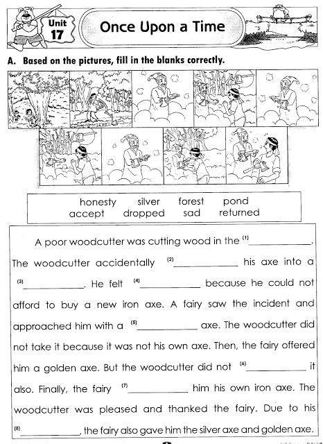 english year 6 kssr worksheets kssr english world of stories exercise english