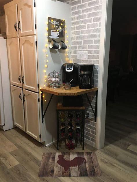 home coffee bar ideas   coffee lovers