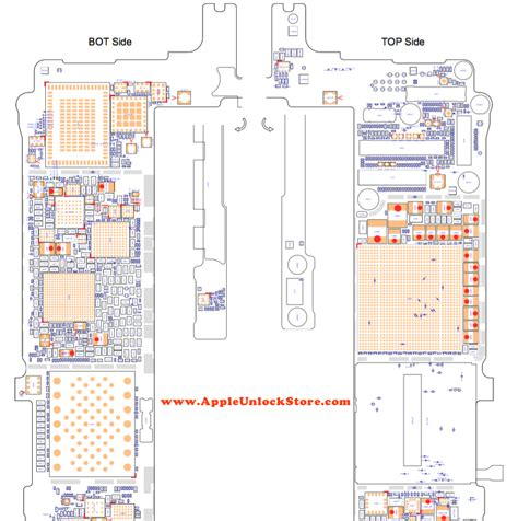 iphone   circuit diagram service manual schematic