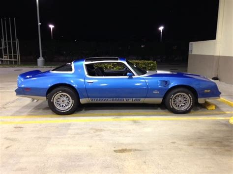 1978 Blue Trans Am by Seller Of Classic Cars 1978 Pontiac Trans Am Martinique