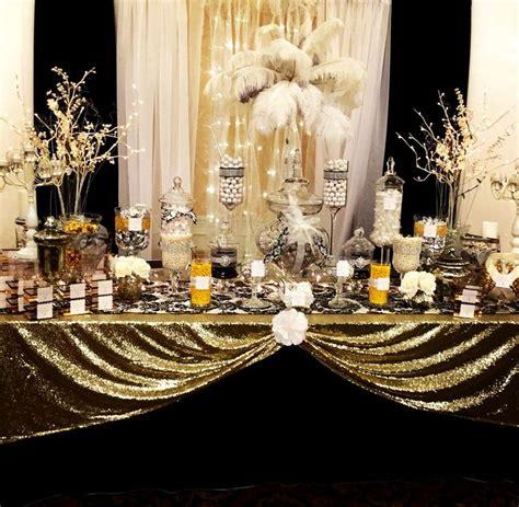 pin  linda chard  candy buffets soiree gatsby