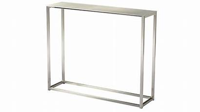 36 Console Table Inch Sancha Tables Aluminum