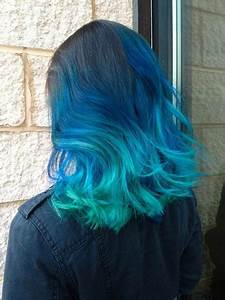 21 Bold and Beautiful Blue Ombre Hair Color Ideas | Page 2 ...