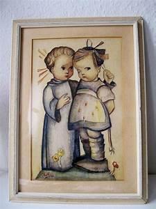 Möbel Hummel : aquarell in der art von hummel engel rgert m dchen ~ Pilothousefishingboats.com Haus und Dekorationen