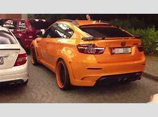 orangecarbon fibre Hamann BMW X6 M walk around MoE