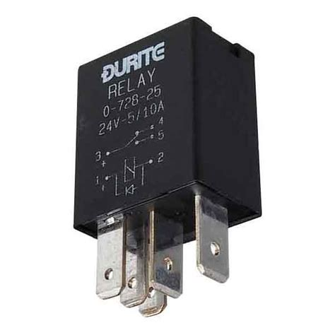 Durite Volt Amp Micro Change Over Relay Pin