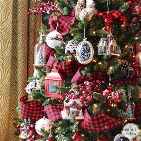 christmas tree decorations  ribbons christmas