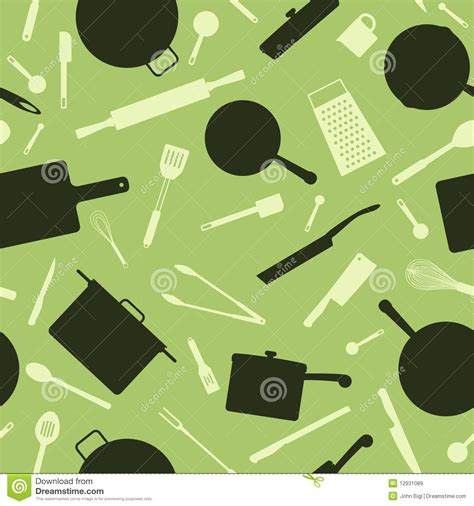 seamless utensil background royalty  stock images