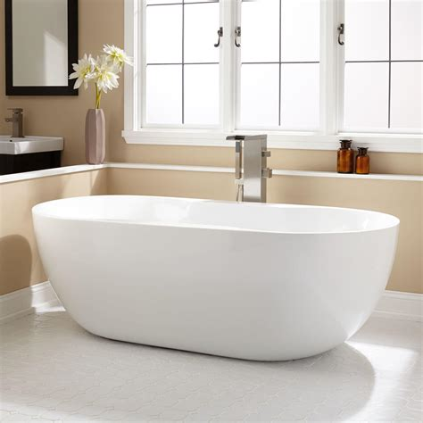 free standing bathtubs freestanding tubs and soaking tubs signature hardware