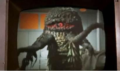 Monster Alien Slime Japanese Horror Animated Halloween
