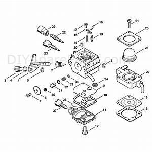 Stihl Mm 55 Multi Tool Engine  Mm 55  Parts Diagram