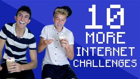 10 Internet Challenges  Part 2 (50k Special) Youtube