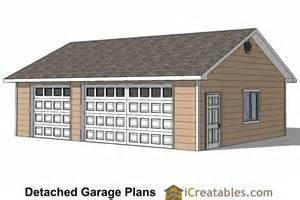 Shed Plans 12x12 With Loft by 24x34 Garage Plans 3 Car Garage Plans 2 Doors