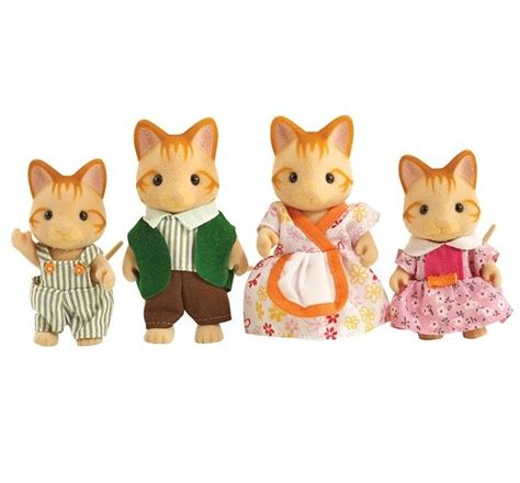 Sylvanian Families Cat Family by Sylvanian Families Cat Family Toys Gamereload Co Uk