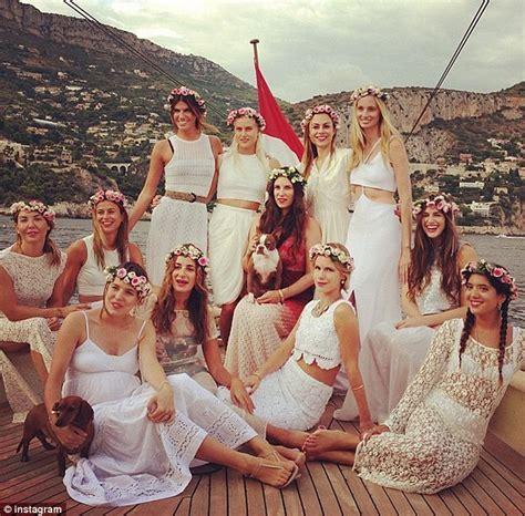 Future Monaco royal Tatiana Santo Domingo treats her