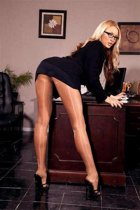 Secretary Bending Over Hot Girls Wallpaper