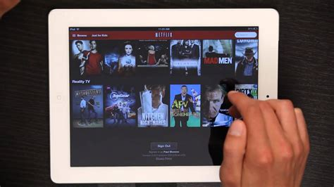How To Log Out Of Netflix On An Ipad