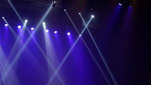 Rock Concert And Disco Party Stage Colorful Lights Stock ...